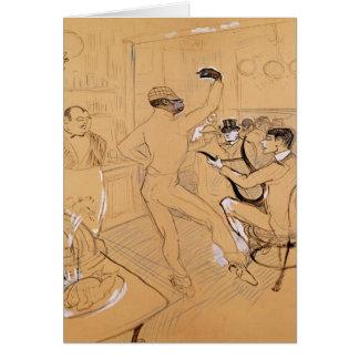 Chocolat Dancing, 1896 Card