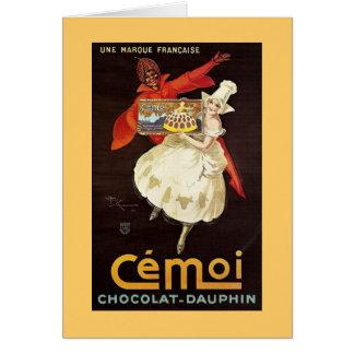 Chocolat Dauphin French Girls1924 Card