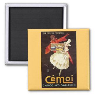 Chocolat Dauphin French Girls1924 Fridge Magnet