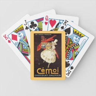 Chocolat Dauphin French Girls1924 Card Deck