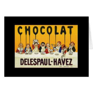 Chocolat Delespaul Havez Card