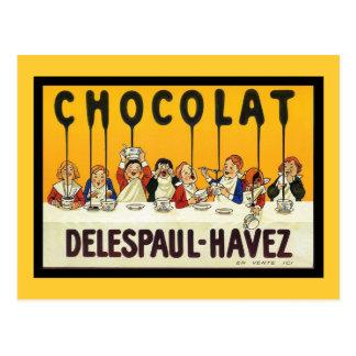 Chocolat Delespaul Havez Postcard