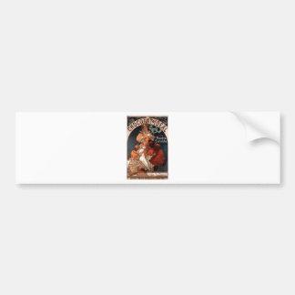 Chocolat Ideal by Alphonse Mucha Bumper Sticker