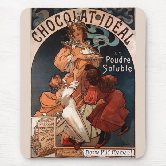 Chocolat Ideal Mouse Pad