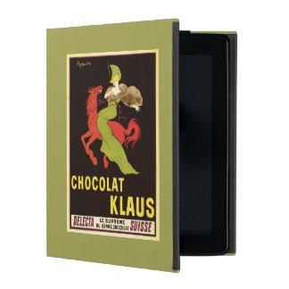 Chocolat Klaus Advertisement Poster iPad Case