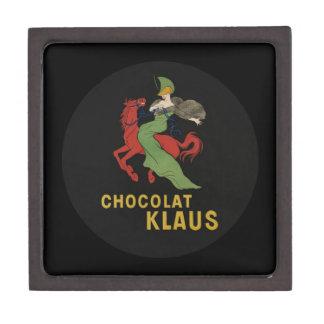 Chocolat Klaus Woman Riding Horse Jewelry Box