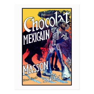 Chocolat Mexicain por Grasset Postal