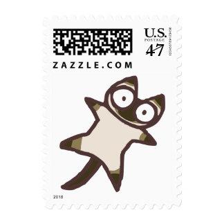 Chocolat Siamese cat Stamp