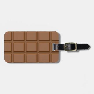 Chocolat Tablet Bag Tag