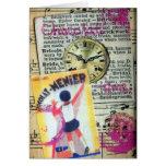 Chocolat Time Collage Card