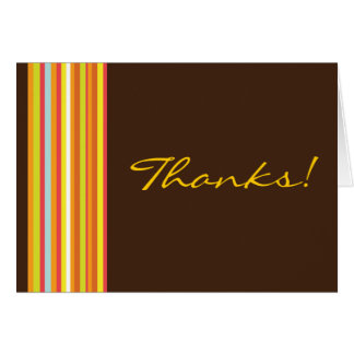 Chocolate Abstract Card