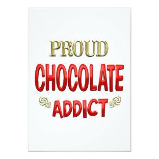 Chocolate Addict Card