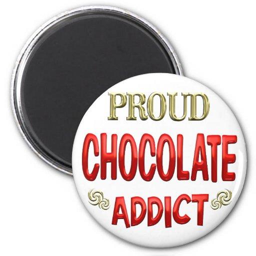 Chocolate Addict Fridge Magnet