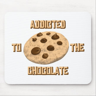Chocolate Addict Mouse Pad