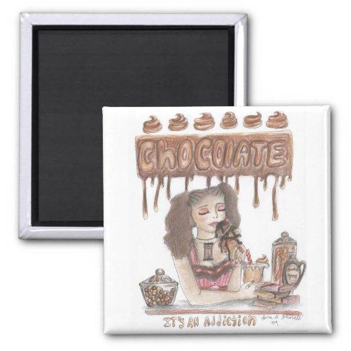 Chocolate Addiction Magnet