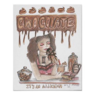 Chocolate Addiction Poster