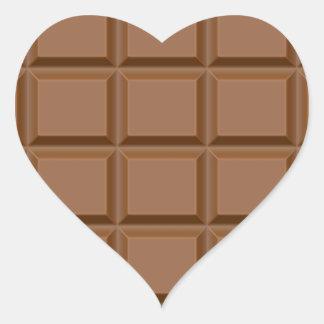CHOCOLATE ADESIVO DE CORAÇÃO