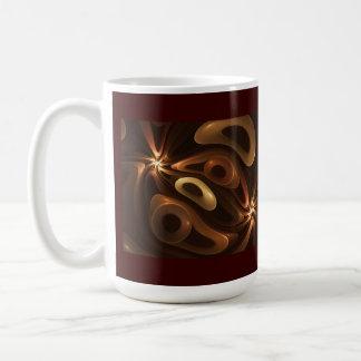 Chocolate and Caramel Coffee Mug