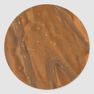 Chocolate and Caramel Cookie Sticker