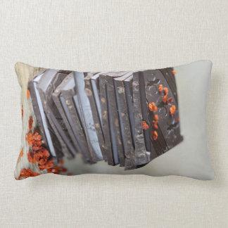 Chocolate and Chili Throw Pillow