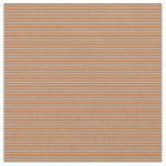 [ Thumbnail: Chocolate and Dark Gray Colored Lines Fabric ]