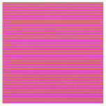 [ Thumbnail: Chocolate and Fuchsia Lines/Stripes Pattern Fabric ]