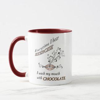Chocolate And No Exercise Mug