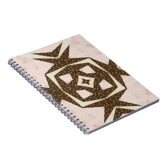 Chocolate and Pink Quilt Notebooks