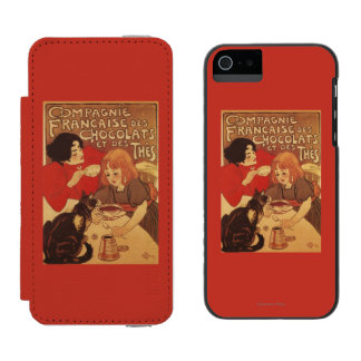 Chocolate and Tea Co Mother and Daughter Wallet Case For iPhone SE/5/5s
