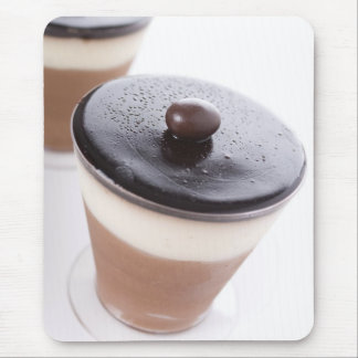 Chocolate and Vanilla Mousse Mousepad