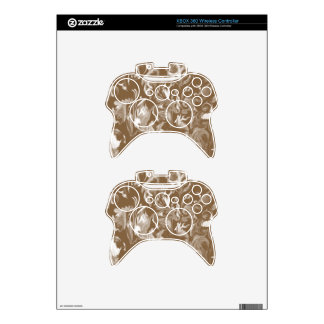 Chocolate and White mix -SK- Xbox 360 Controller Decal