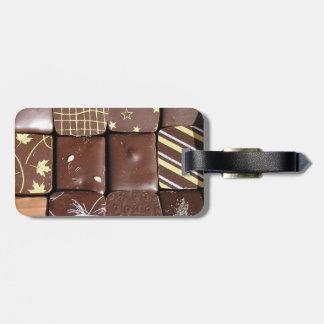 Chocolate assortments bag tag