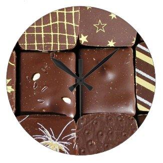 Chocolate assortments clocks