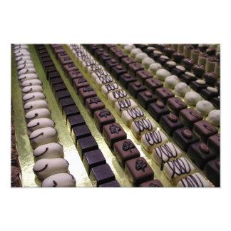 Chocolate assortments photograph