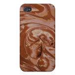 Chocolate Background Cases For iPhone 4