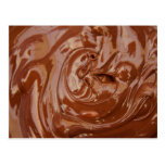 Chocolate Background Post Card