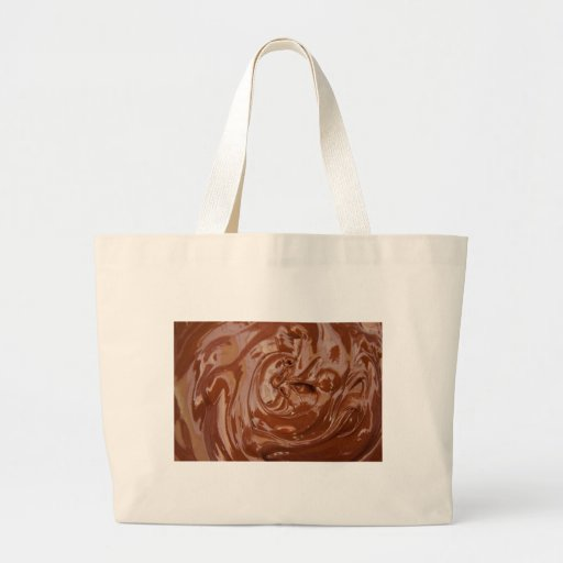 Chocolate Background Tote Bags