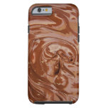 Chocolate Background Tough iPhone 6 Case