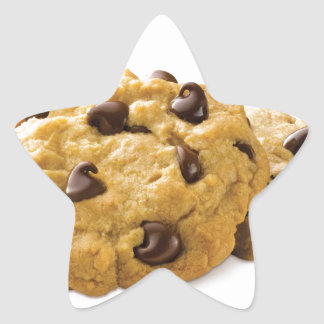 Chocolate Baking Sweets Dessert Food Cookie Party Star Sticker