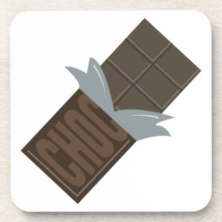 Chocolate Bar Drink Coaster