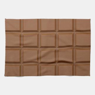 """Chocolate Bar"" custom kitchen towel"