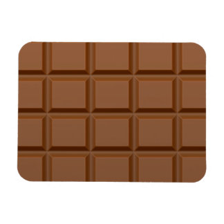 """Chocolate Bar"" custom magnet"