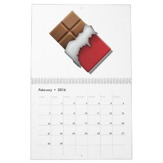 Chocolate Bar - Emoji Calendar