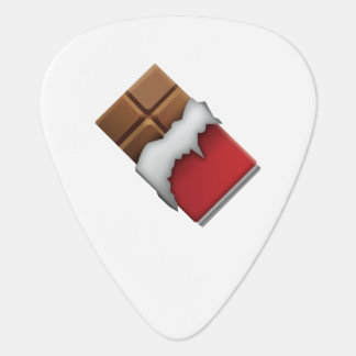 Chocolate Bar - Emoji Guitar Pick
