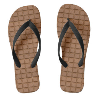 Chocolate Bar Flip Flops