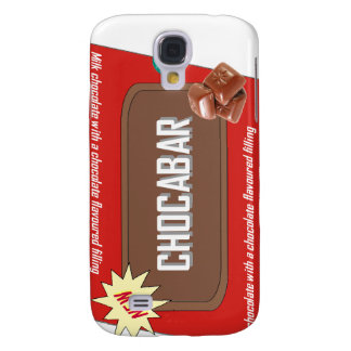 Chocolate bar galaxy s4 cover