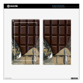 Chocolate Bar Kindle Fire Skin