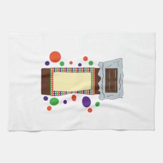 Chocolate Bar Hand Towels