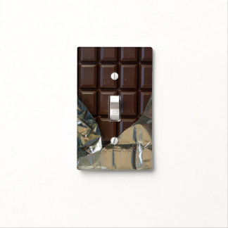 Chocolate Bar Light Switch Cover
