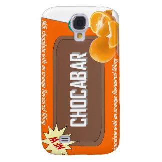Chocolate bar (orange) samsung galaxy s4 case